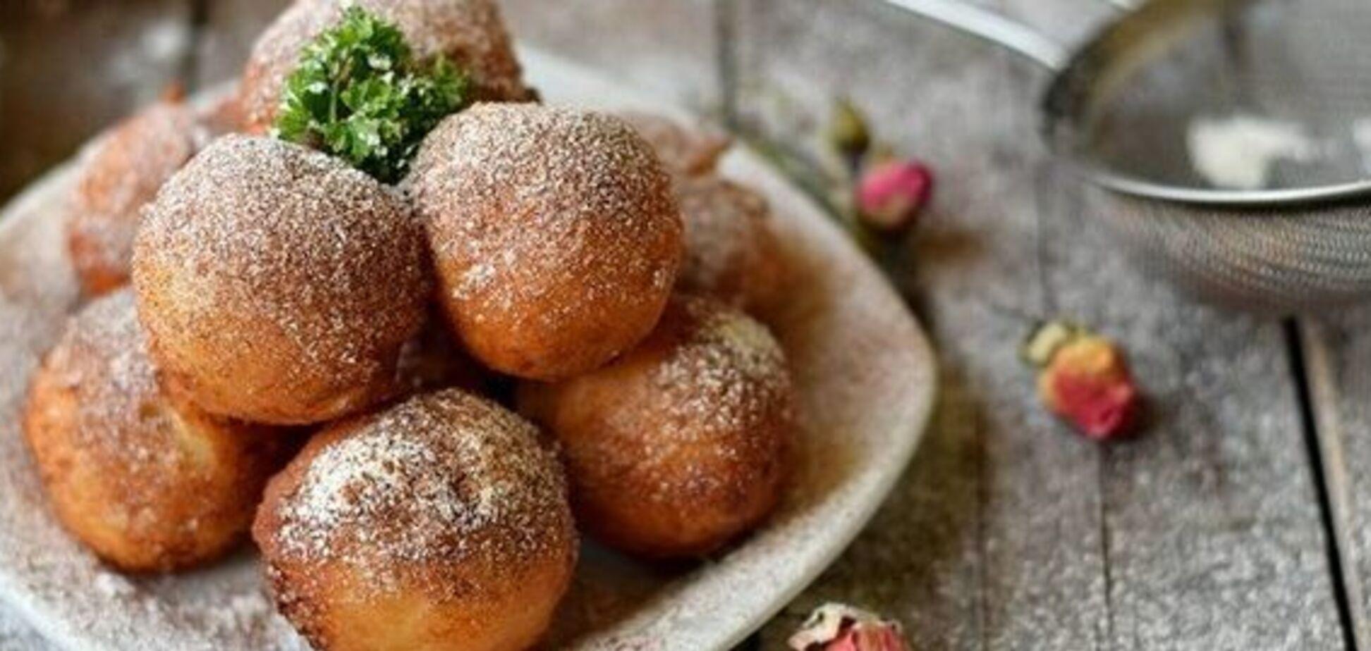 Рецепт чудових сирних пончиків нашвидкоруч