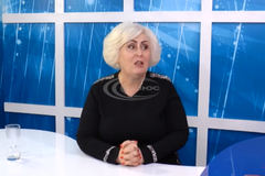 'Никуда меня не закроют!' Сепаратистка Штепа собралась в мэры Славянска. Видео