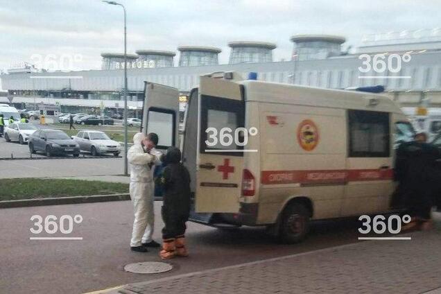 Госпіталізація росіянина в аеропорту