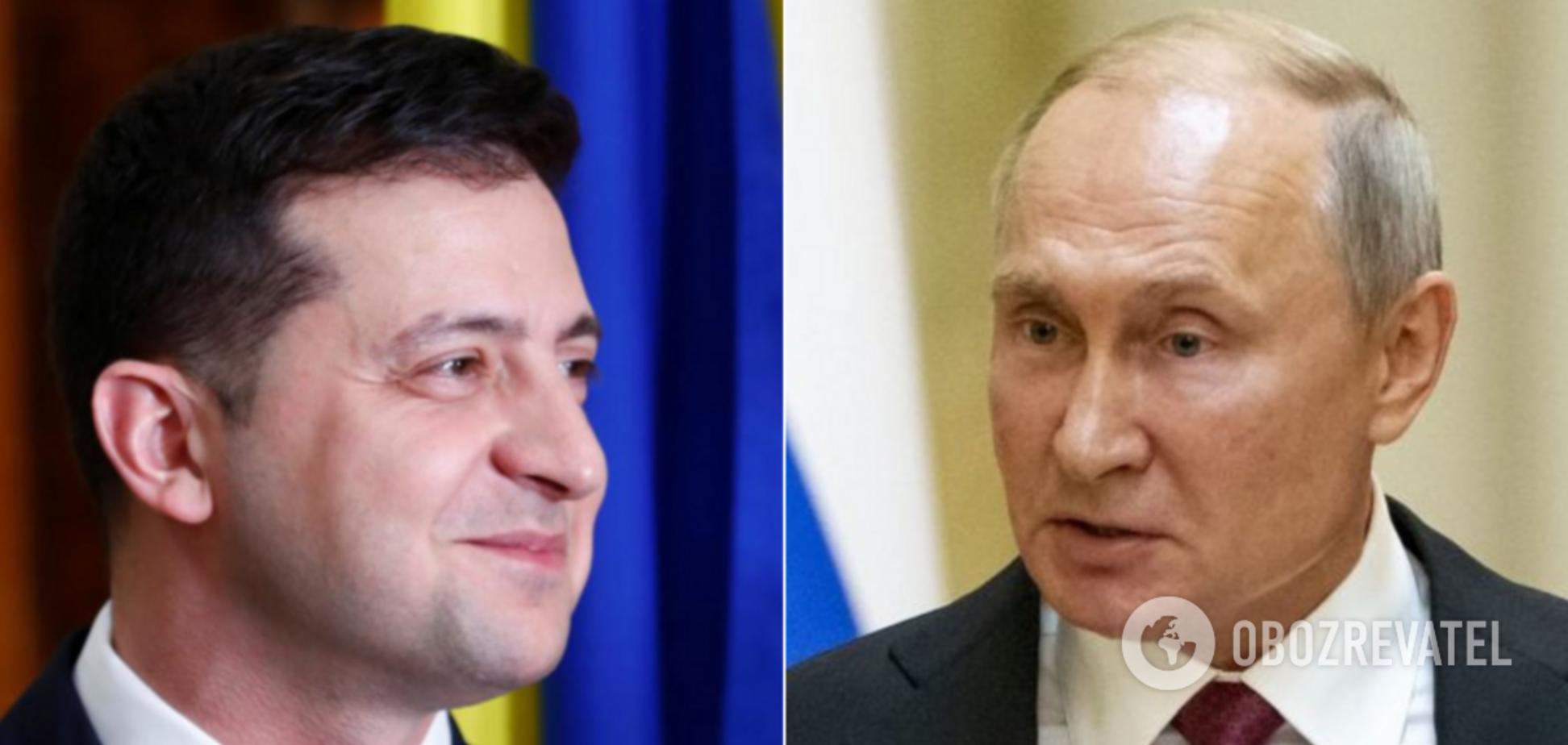У Путина сказали, почему не было встречи с Зеленским