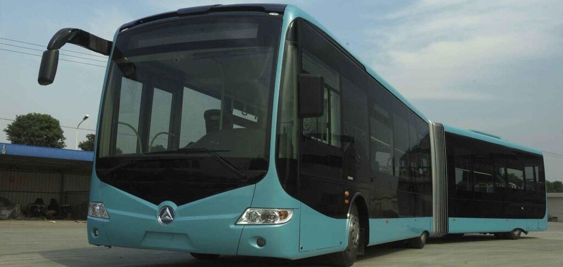 Європа й Китай інвестують мільйони євро у створення електричних автобусів