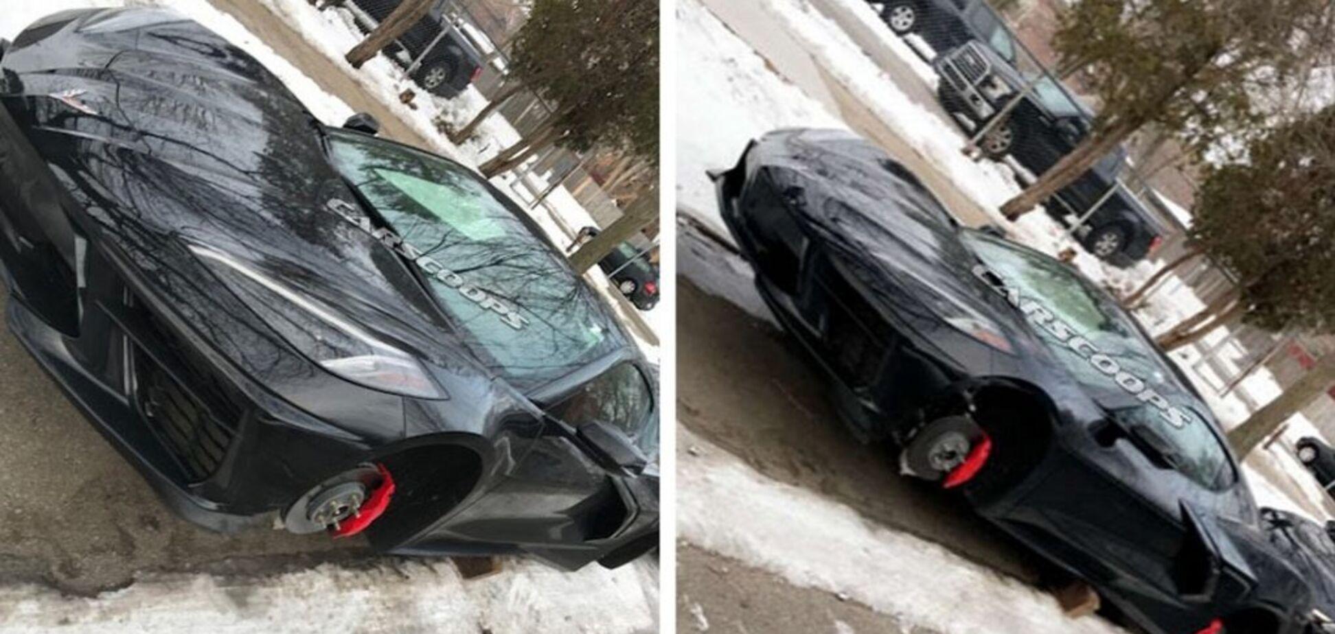 Злодії понівечили автомобіль, якого ще навіть немає в продажу