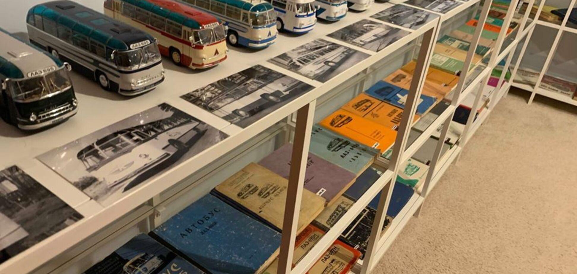 Автобуси ЛАЗ у США: у мережі показали вражаючу колекцію