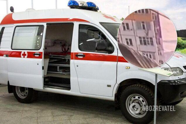 В России женщина рухнула с 9 этажа