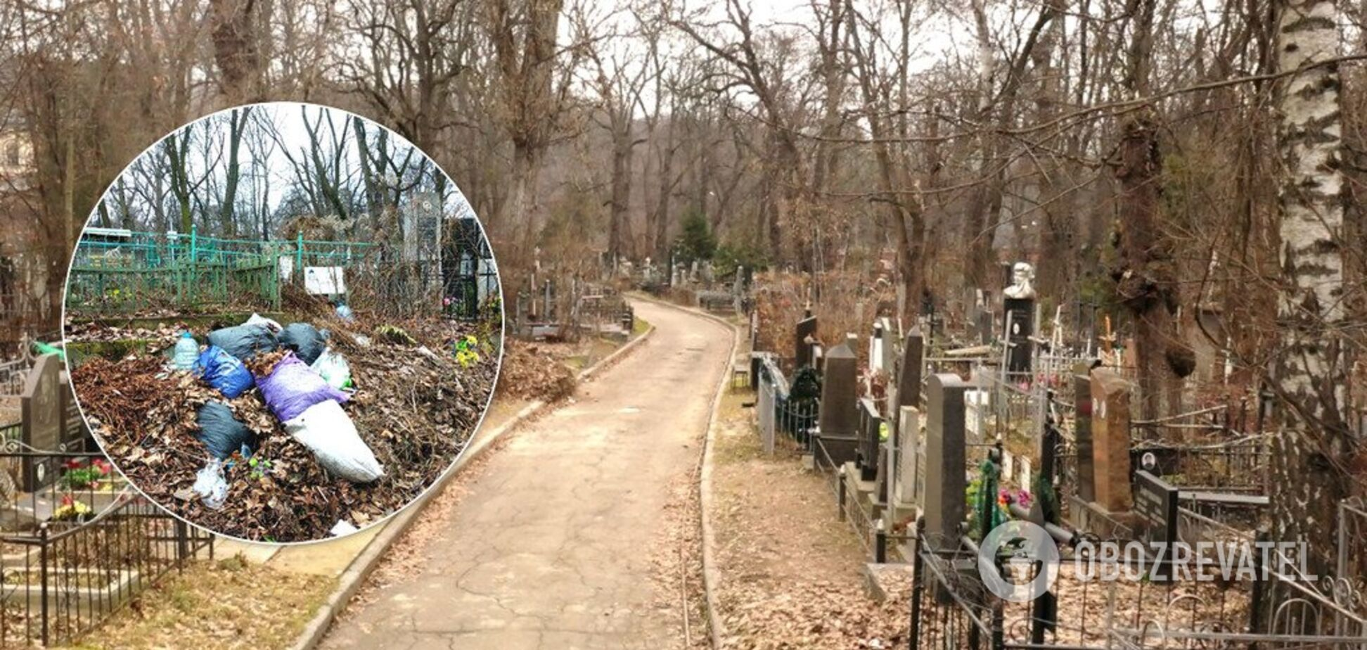 Кладовища Київ