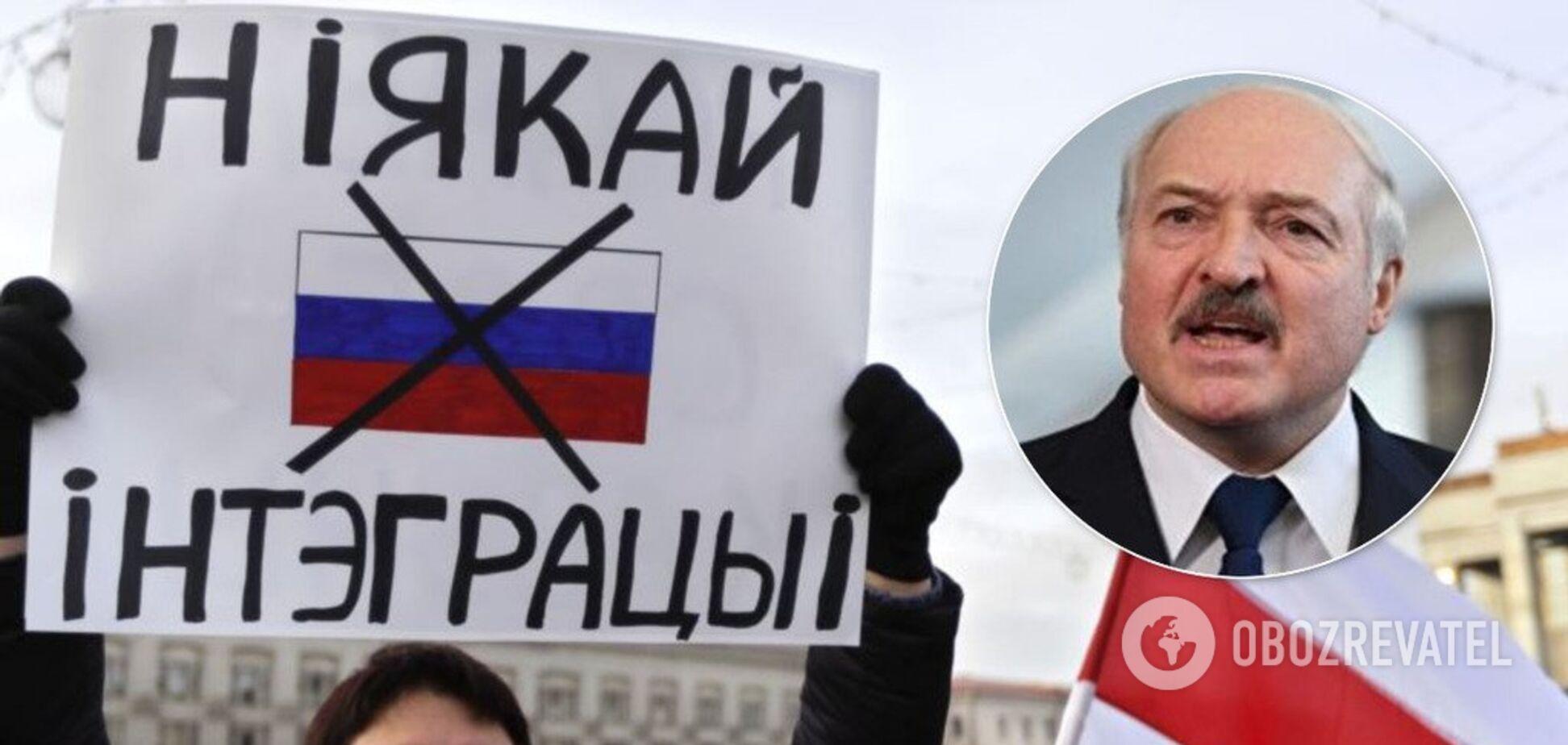 'Они бы 'съели' меня!' Лукашенко жестко высказался о России