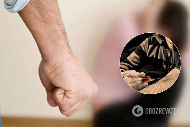 Под Днепром наркоманы напали на женщину в туалете