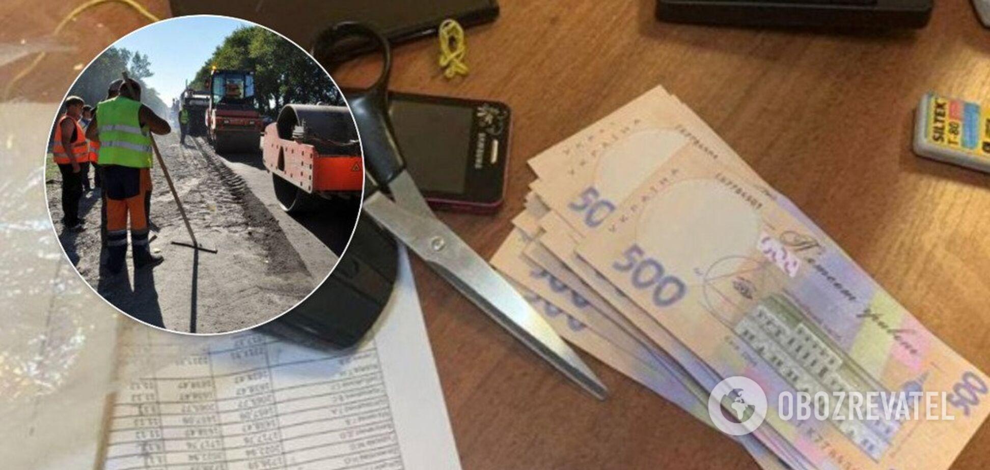 Начальника Закарпатского облавтодора поймали за взятке