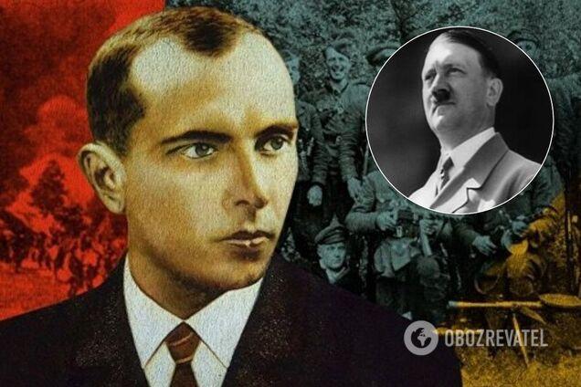 Степан Бандера, Адольф Гитлер