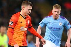 Николай Матвиенко против 'Манчестер Сити' в Лиге чемпионов