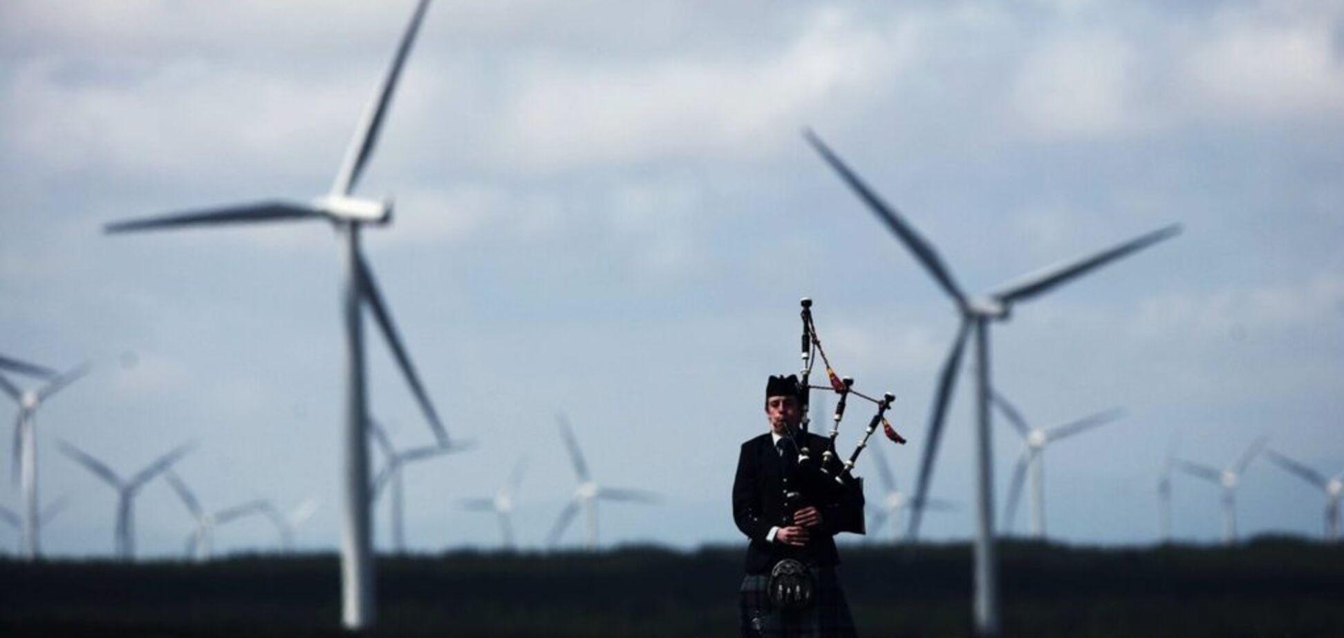 Відмова від нафти й газу: в 2020 році Шотландія повністю перейде на 'зелену' енергію