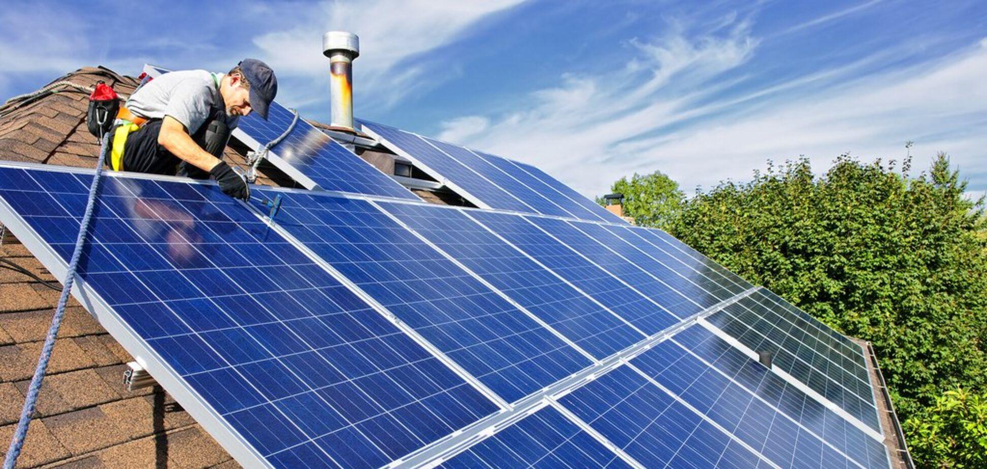 Власникам домашніх сонячних станцій не платять за 'зеленим' тарифом: Герус повідомив про проблему
