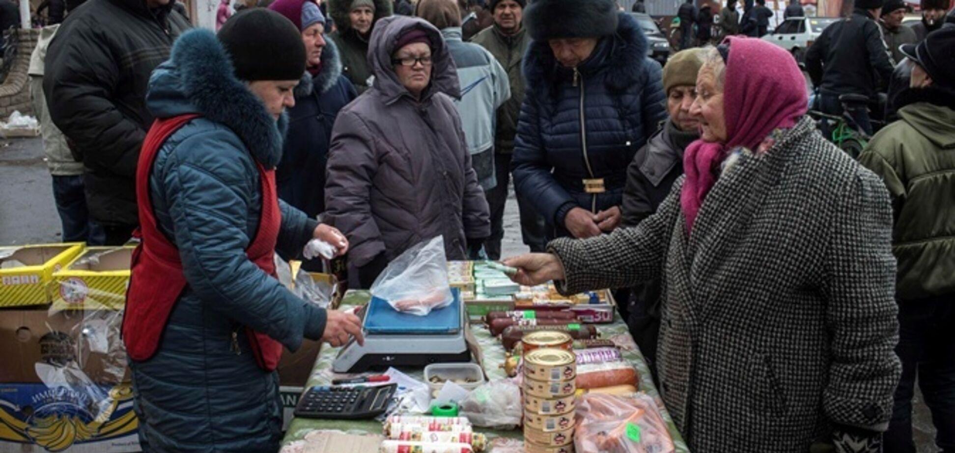 В 'ДНР' нет даже хлеба, люди выживают как могут