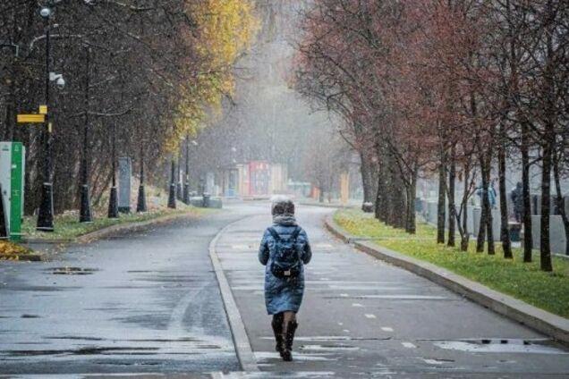 Теплая зима в Украине