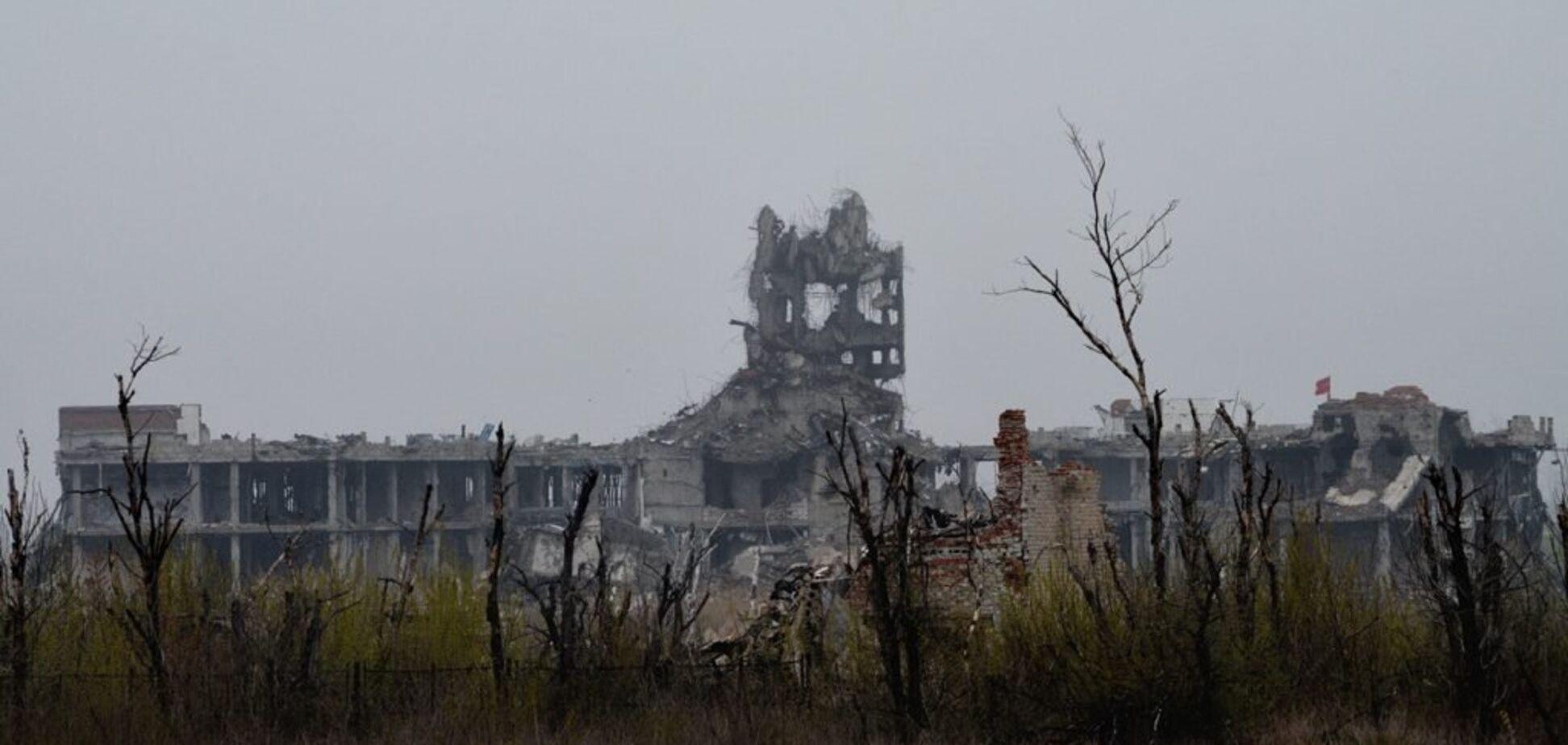 Очередной провал, или Как россияне Донецк обстреляли