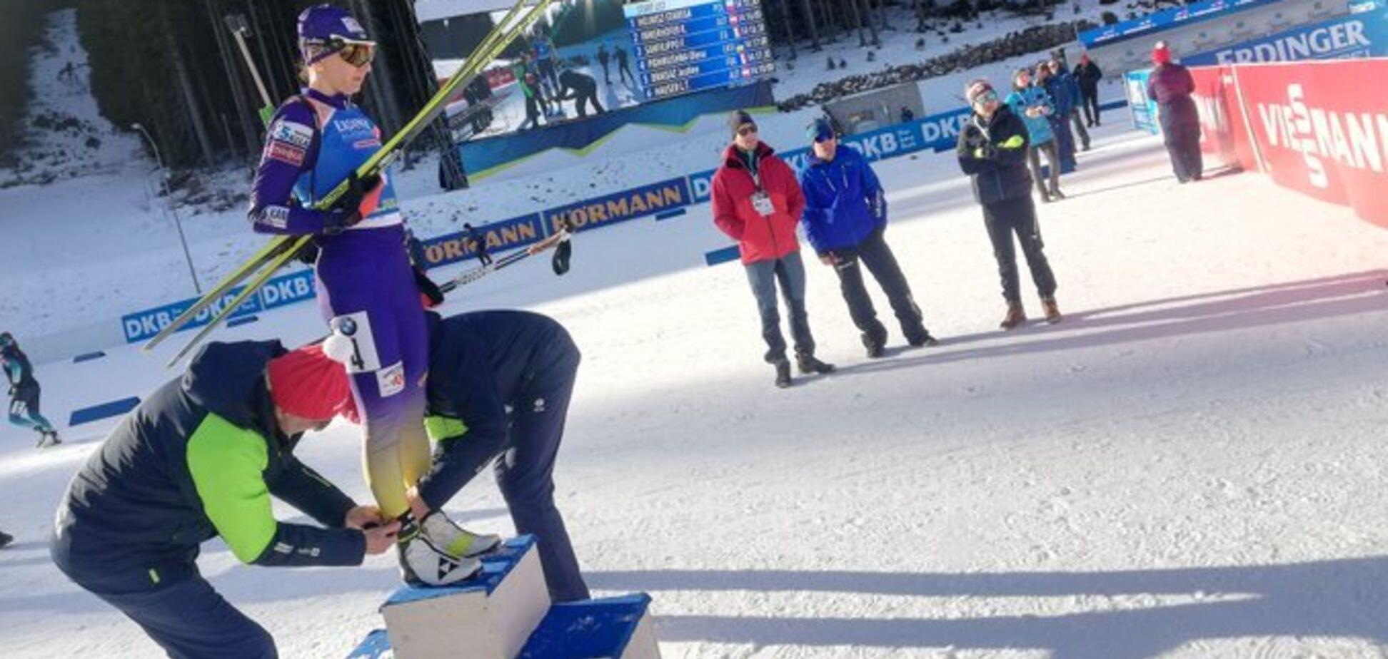 Україна дискваліфікована на Кубку світу з біатлону