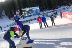 Украина дисквалифицирована на Кубке мира по биатлону