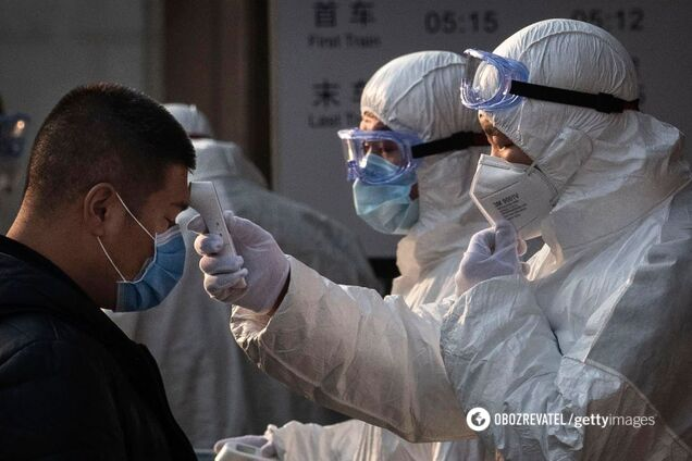У китаянки з коронавірусом трансформувалися легені