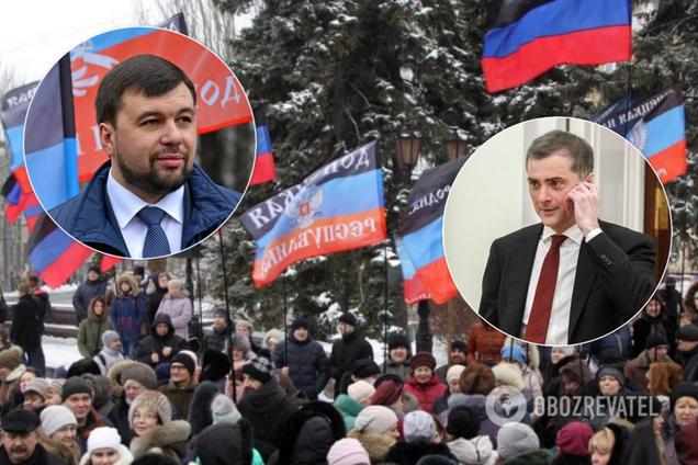 Пушилин покинул Донецк после отставки Суркова