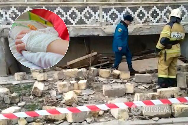 В России в результате взрыва в многоэтажке пострадал ребенок