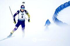 Украинцы заняли последние места на Кубке мира по биатлону