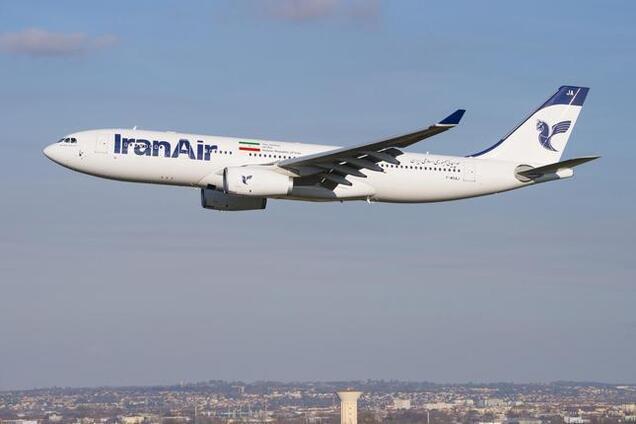 В Иране произошло новое ЧП с пассажирским самолетом
