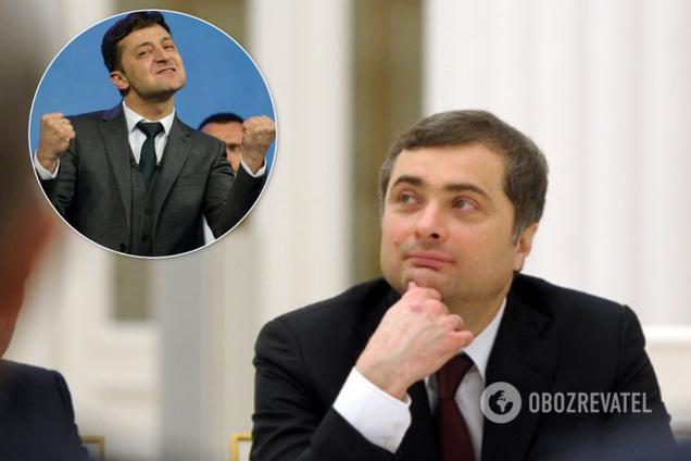 Сурков пішов із Донбасу після зустрічі Зеленського з Путіним у Парижі