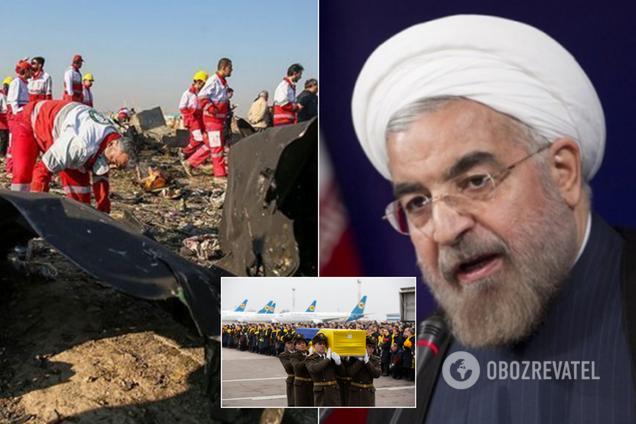 От Рухани скрывали правду об авиакатастрофе