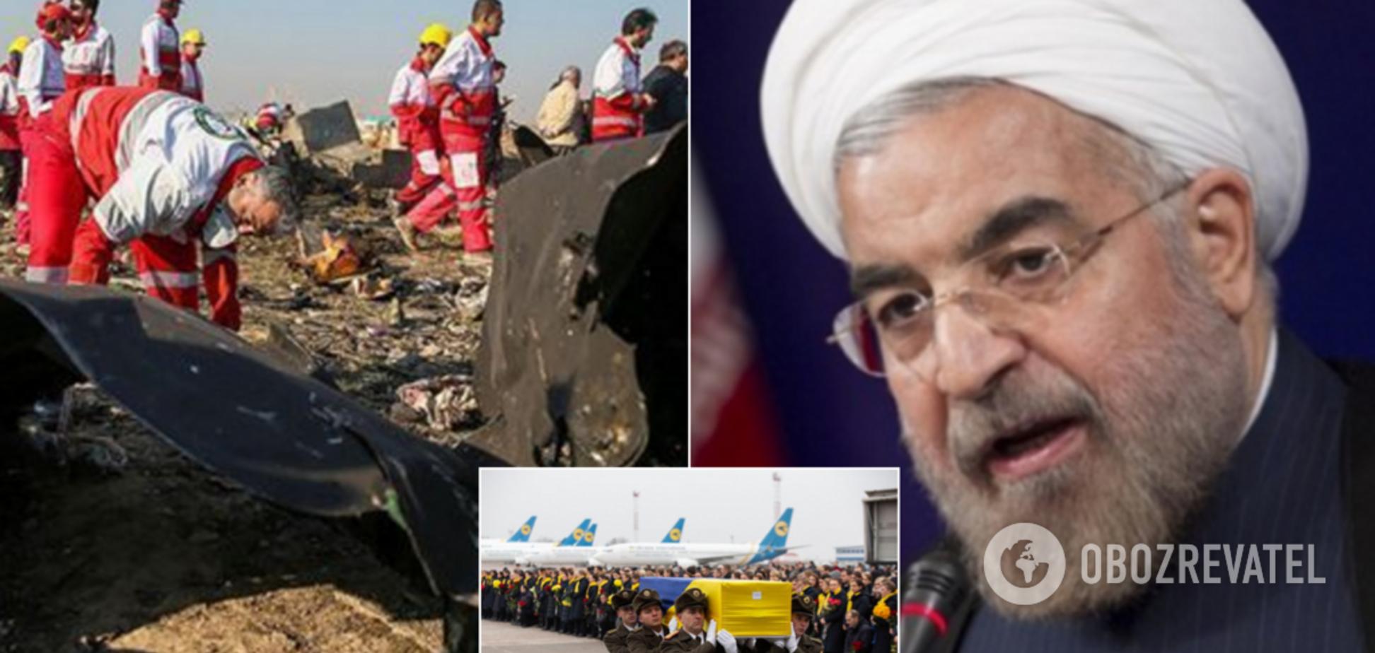 Сильный поступок президента: как Иран скрывал правду о сбитом украинском самолете