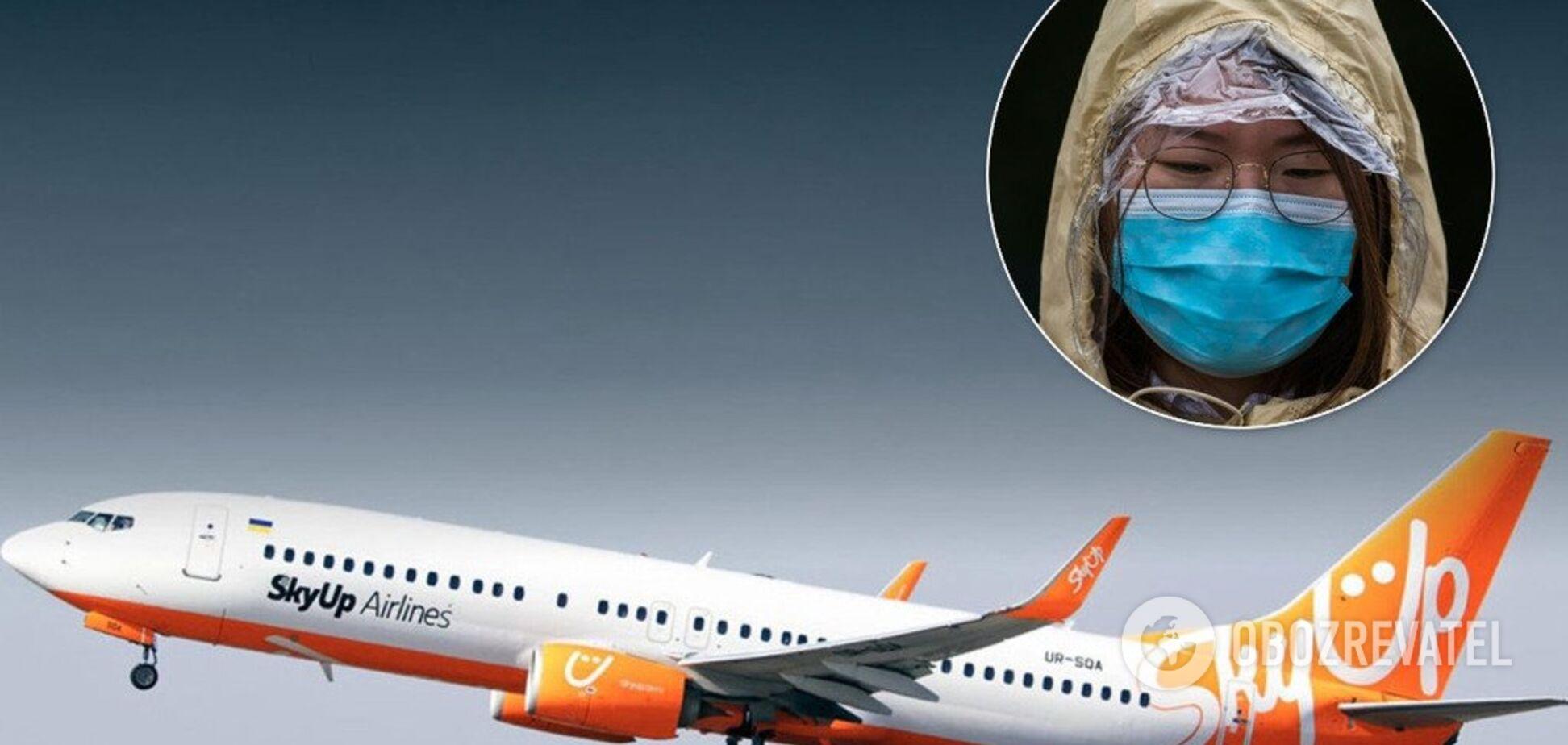 Из-за смертельного вируса: украинский лоукостер остановил рейсы в Китай и возвращает туристов