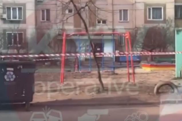 В Киеве на детской площадке нашли гранату