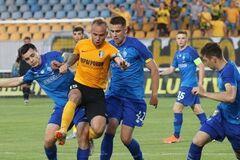 'Динамо' в матче против 'Александрии'