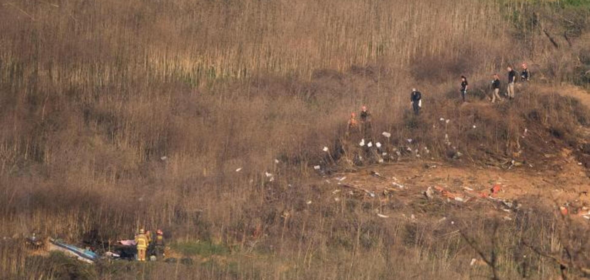 В сети показали момент крушения вертолета Коби Брайанта. Видео