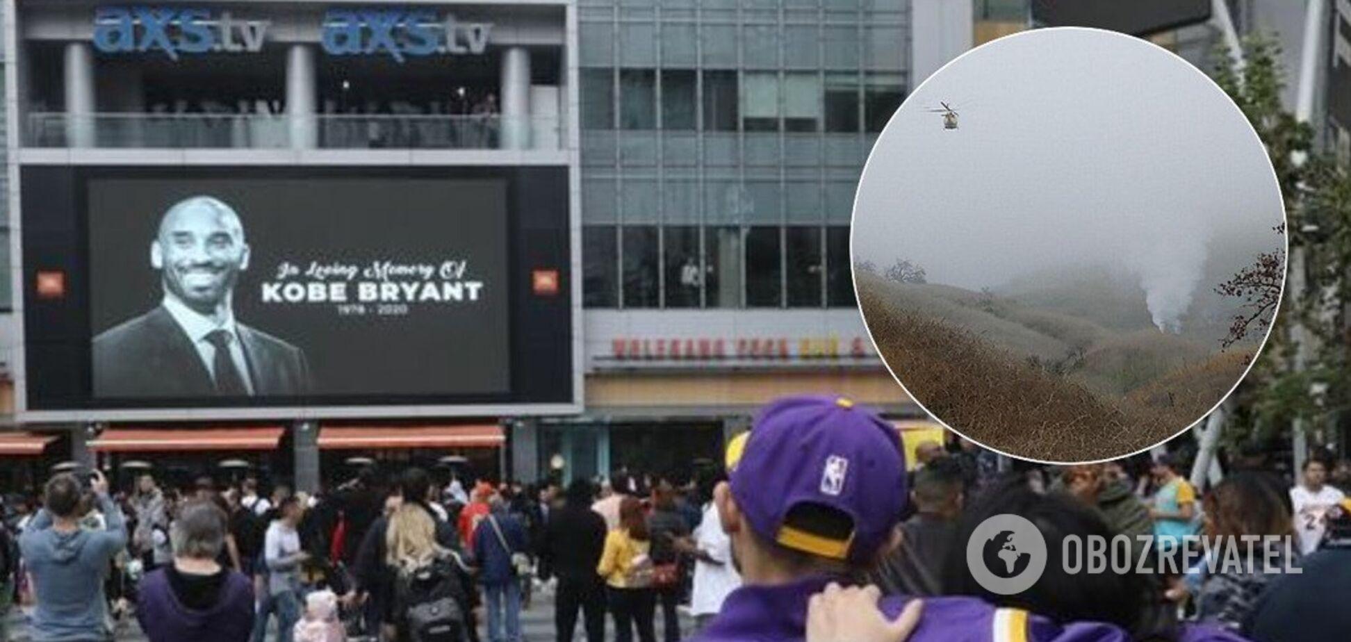 У США прощаються із легендарним баскетболістом Кобі Браянтом: фото