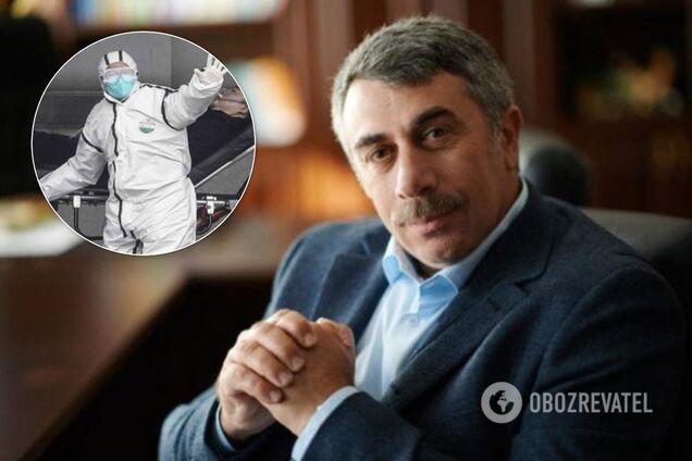 Комаровский высмеял панику вокруг коронавируса