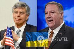 'Защищает себя и Запад!' Тейлор жестко ответил Помпео на 'безразличие' американцев к Украине