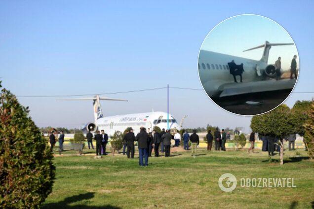 В Ірані трапилася НП з пасажирським літаком