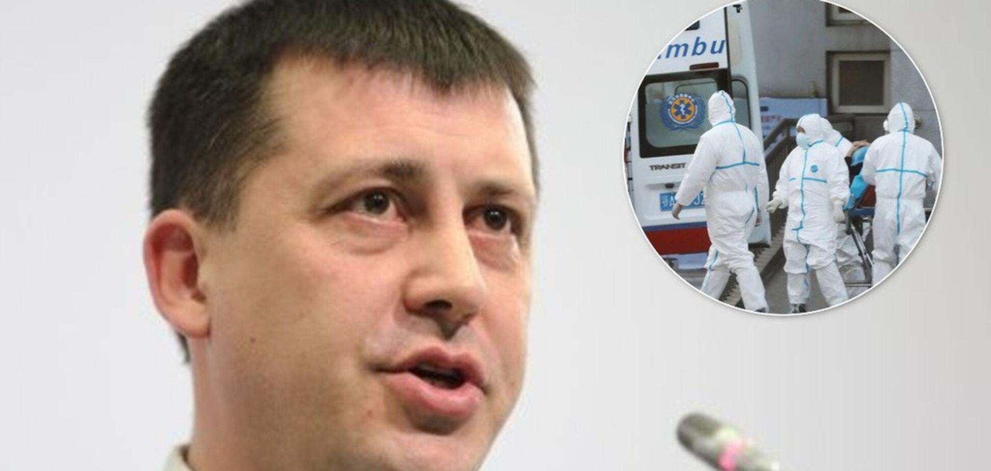 'Поширюється в геометричній прогресії': лікар розповів про небезпеку спалаху коронавірусу в Україні
