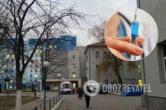 'Вцепился в руку зубами!' Киевская больница отказала пациентке в прививке: вспыхнул скандал
