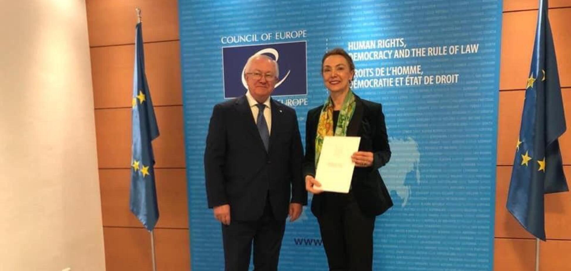 Борис Тарасюк стал постпредом Украины в Совете Европы