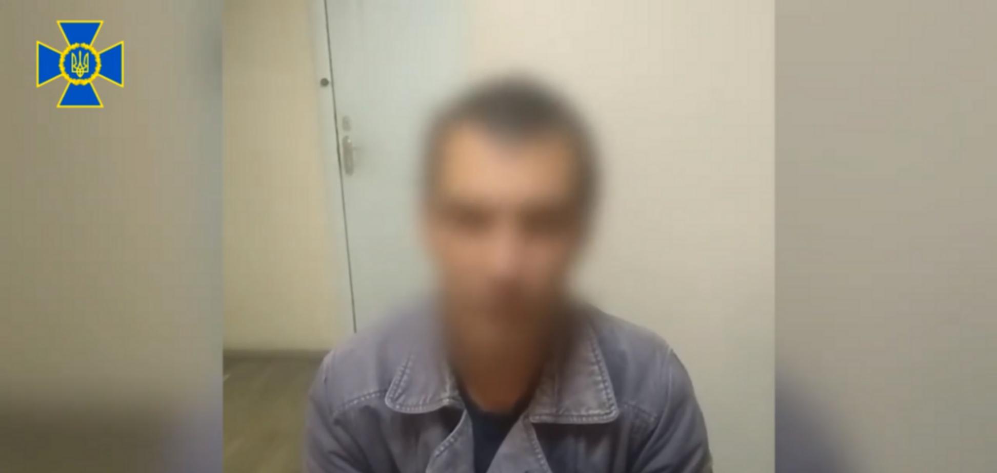 Стрелял по мирным и военным: СБУ задержала гранатометчика 'ДНР'. Видео