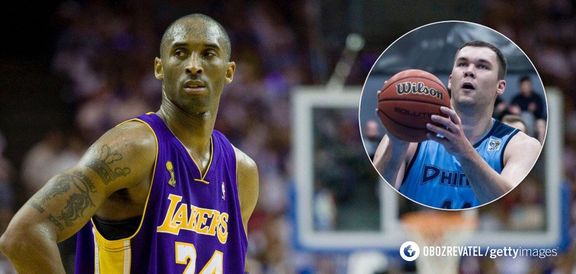 'Штраф на тисячі доларів': зірка українського баскетболу згадав про спекотну зустріч з Кобі Браянтом