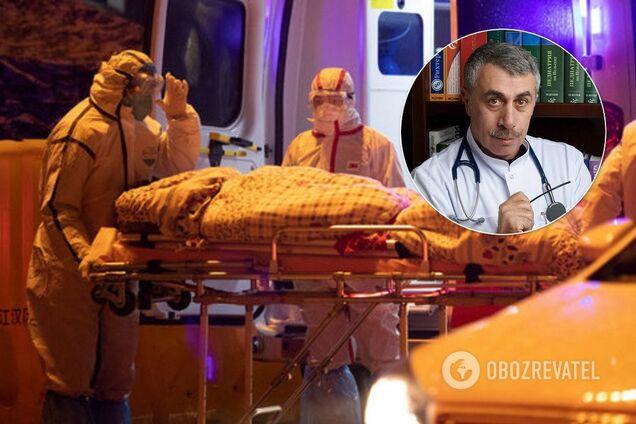 Комаровський розкрив фейки про коронавірус