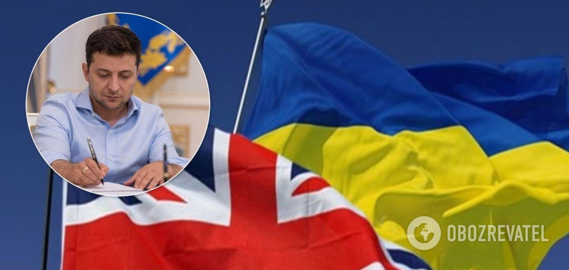 Украина введет безвиз для Британии после Brexit – СМИ