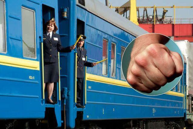 На Черкащині побили залізничницю