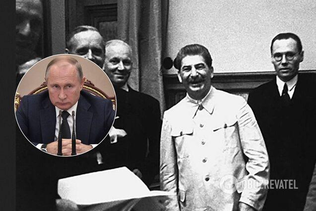 Владимир Путин, Иосиф Сталин