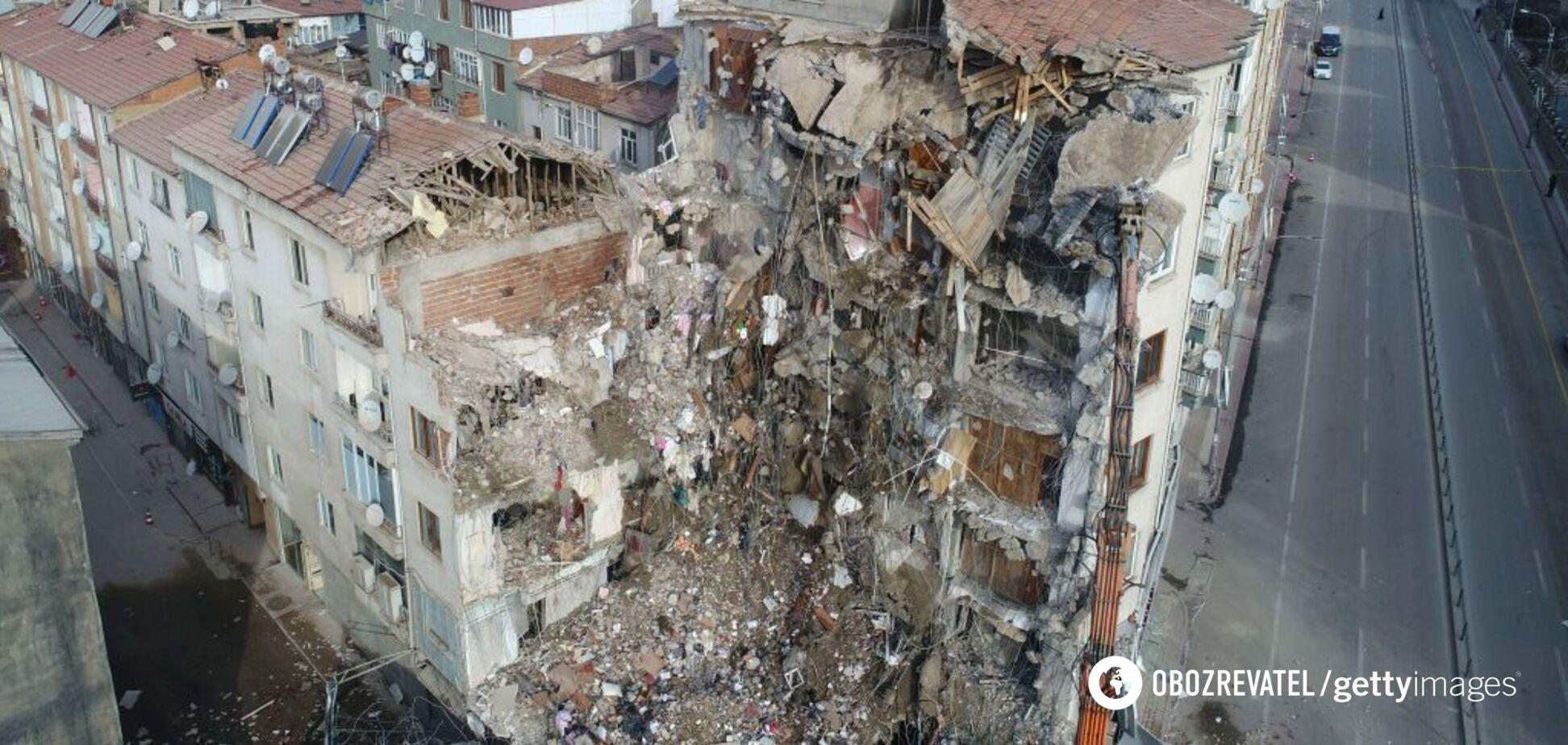 В Турции второй раз за неделю произошло сильное землетрясение