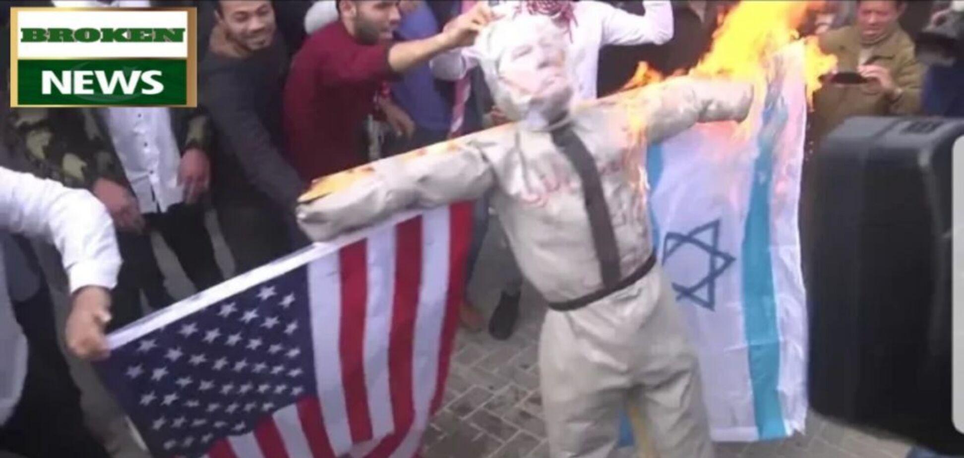 У Палестині спалахнули протести через угоди століття Трампа