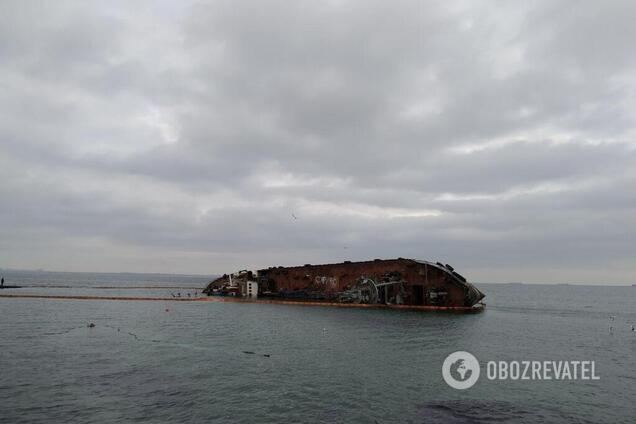 Названий справжній власник затонулого біля Одеси танкера Delfi