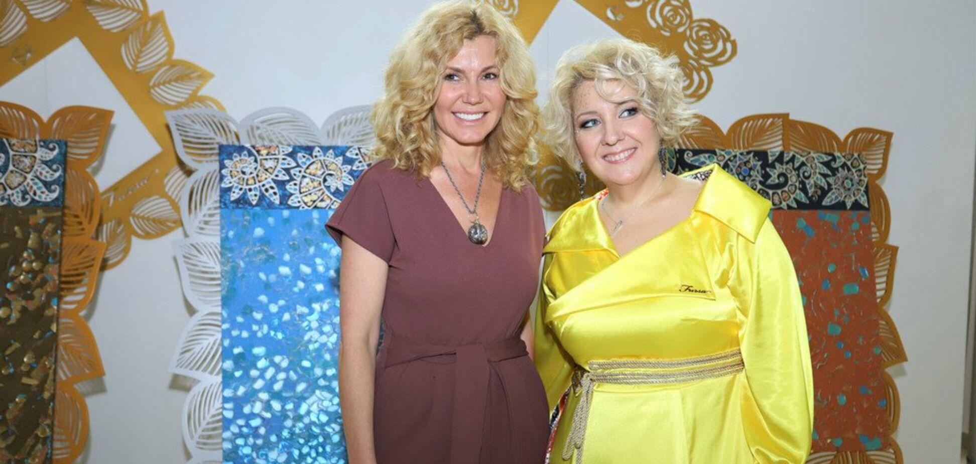 В Киеве открылась персональная выставка Оксаны Фурса: кто из звезд пришел